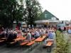 Auf dem Kirch- und Dorfplatz in Neuastenberg