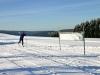 Skilanglaufstadion in Langewiese auf der Grenze