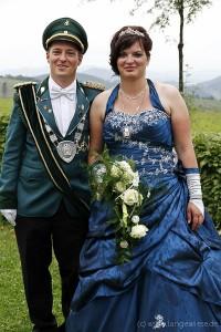 Schützenkönigspaar Sven & Janine Hetzler